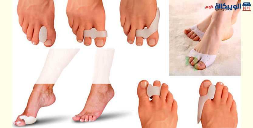 منتجات سيليكون لراحة القدم