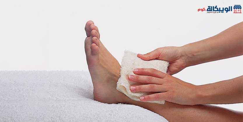 علاج التواء مشط القدم