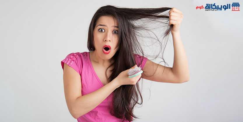علاج الشعر الدهني المتساقط