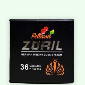كبسولات زوريل الألماني الأسود zoril weight loss