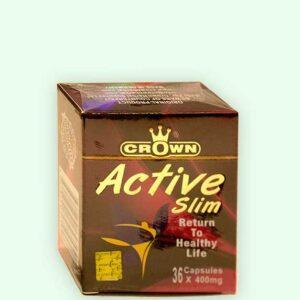 كبسولات كراون اكتف سليم للتخسيس | Crown active slim