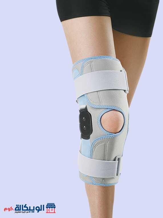 جبيرة الركبة المفصلية   Wrap-Around Hinged Knee Support 3