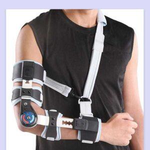 جبيرة مفصل الكوع بعداد | Post-Op Elbow Brace WellCare