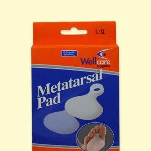 سيليكون لراحة مشط القدم – Wellcare Silicone Metatarsal Pad