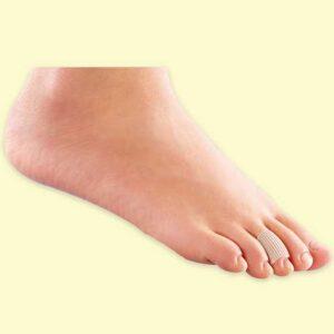 غطاء سيليكون اصبع القدم | Wellcare Tubular Toe Protector