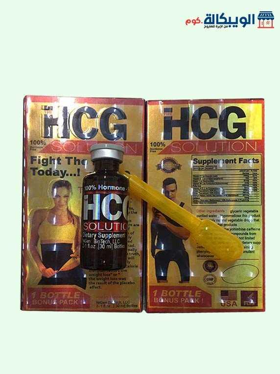 نقط التخسيس HCG
