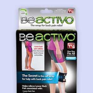 حزام عرق النسا | BEACTIVO The Wrap For Back Pain Relief