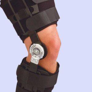 جبيرة الركبة المفصلية بعداد | Soft Guards