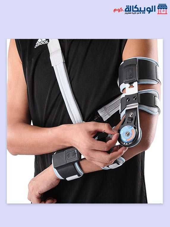 جبيرة مفصل الكوع بعداد | Post-Op Elbow Brace Wellcare 1