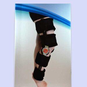 جبيرة الركبة المفصلية بعداد | Adj. Hinged Knee Brace Bluewell