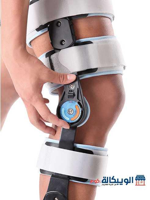 جبيرة الركبة المفصلية بعداد | Adj. Hinged Knee Brace Wellcare
