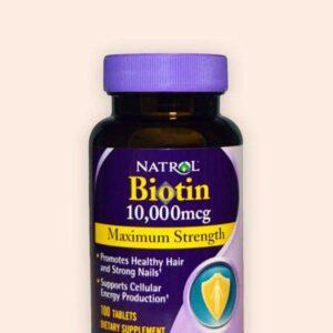 Natrol | بيوتين 100 قرص