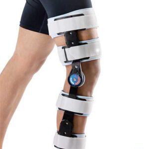 جبيرة الركبه المفصلية بعداد | Adj. Hinged Knee Brace WellCare