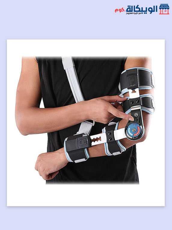 جبيرة مفصل الكوع بعداد | Post-Op Elbow Brace Wellcare 3