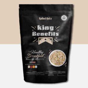 لفائف الشوفان الابيض للتخسيس   Rolled Dots King Benefits