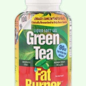 الشاي الاخضر لحرق الدهون – 90 كبسولة جيلاتينية