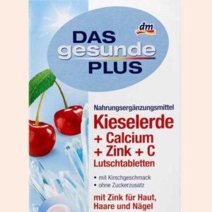 حبوب سيليكا لتطويل الشعر | Silica + Calcium + Zinc + vitamin C