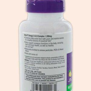 كبسولات اوميجا 3 -6-9 Natrol, Omega 3-6-9