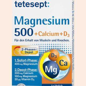 كبسولات مغنيسيوم مع الكالسيوم وفيتامين د | Calcium Magnesium Vitamin D3