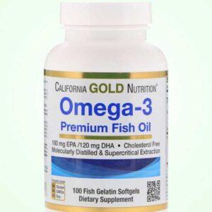 الاوميجا 3 كبسولات زيت السمك | California Gold Nutrition