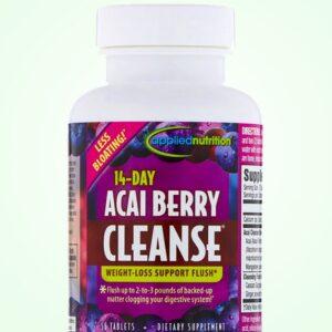 كبسولات اساي بيري للتطهير خلال 14 يوم |  Acai Berry cleanse