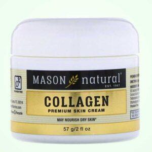 كريم كولاجين للوجه برائحة الكمثرى | Mason Natural