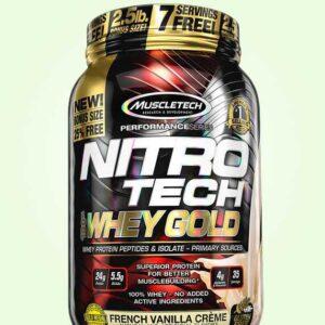 بروتين مصل اللبن نيترو تك – بنكهة الفانيليا الفرنسية | Muscletech-Nitro Tech