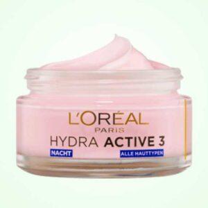 كريم لوريال الليلي للتجاعيد | Night Cream Hydra Active 3