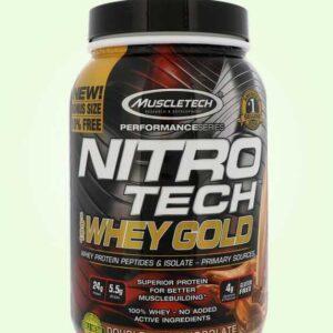مصل اللبن بالشيكولاتة المزدوجة من نيترو تك | Muscletech-Nitro Tech
