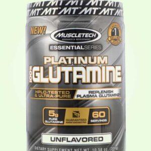 مكمل الجلوتامين الأمريكي لبناء العضلات Muscletech Platinum Glutamine