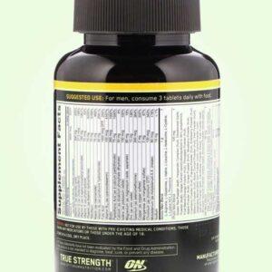 فيتامين اوبتي مان الأمريكي، 150 قرص، Optimem Nutrition