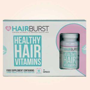 حبوب هير برست للشعر | Hairburst 3 x 60 Capsules 3 Month Supply