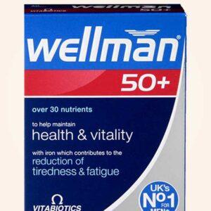 فيتامين ويلمان للرجال كبار السن 30 قرص | Vitabiotics Wellman +50