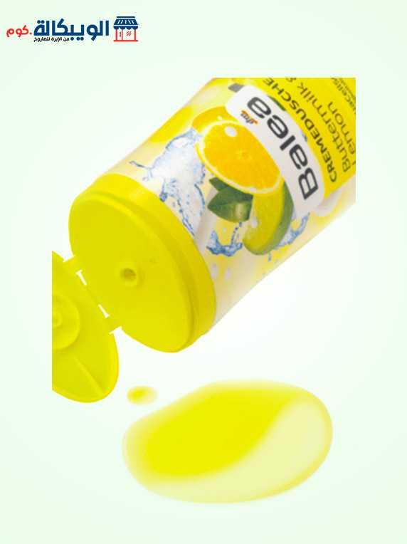 كريم استحمام بزبد اللبن والليمون