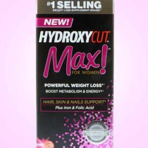 هيدروكسي كت ماكس للنساء | Hydroxycut, Max! For Women