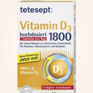 اقراص فيتامين d3 | Vitamin D3 tablets