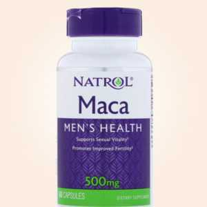 كبسولات عشبة الماكا | Maca Capsules for Men's Health