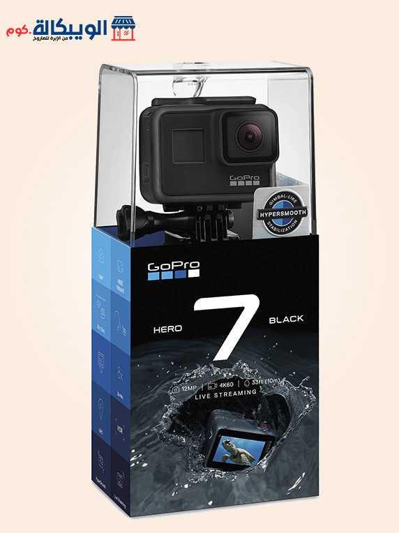 كاميرا جوبرو هيرو 7 بلاك   Gopro Hero 7 Black 1