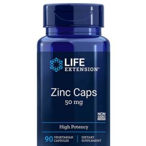 حبوب الزنك مكمل غذائي للمناعة والصحة العامة | Zinc Capsules