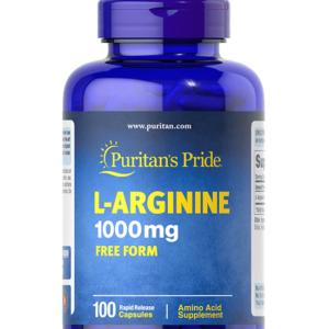 كبسولات الارجنين | Puritan's Pride L-Arginine Capsules