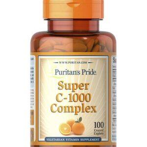 كبسولات فيتامين سي 1000 كومبلكس| Vitamin C complex